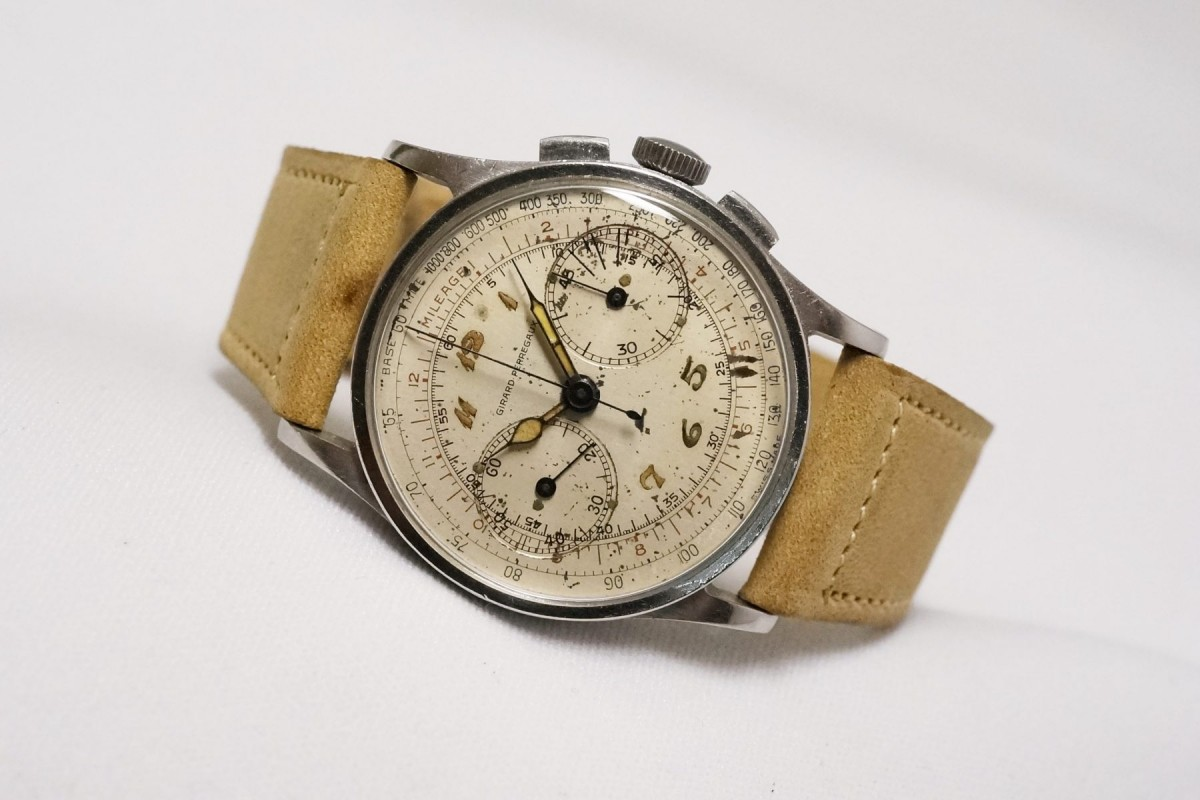 GIRARD-PERREGAUX カラトラバ Breguet numerals lume(CH-01/1930s)