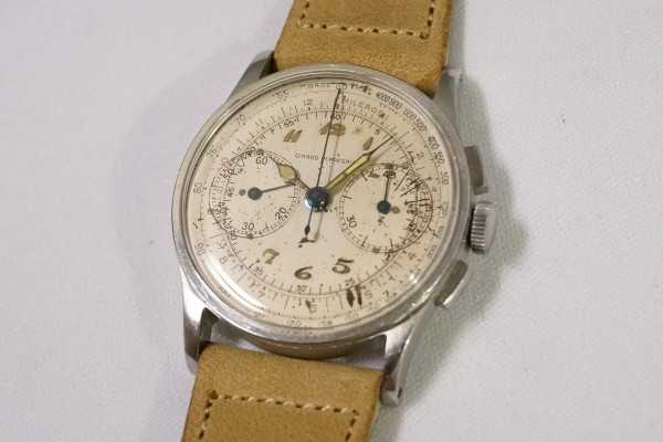 GIRARD-PERREGAUX カラトラバ Breguet numerals lume(CH-01/1930s)の詳細写真2枚目
