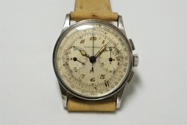 GIRARD-PERREGAUX カラトラバ Breguet numerals lume(CH-01/1930s)の詳細写真5枚目