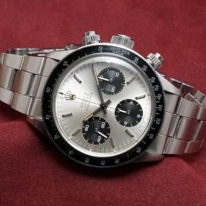 ロレックス COSMOGRAPH Ref-6263 Silver Sigma σ Dial