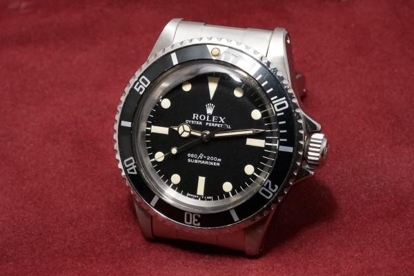 ロレックス サブマリーナ Ref-5513 Feetfirst Dial(RS-11/1972年)の詳細写真3枚目