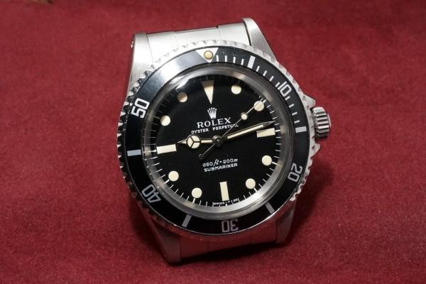 ロレックス サブマリーナ Ref-5513 Feetfirst Dial(RS-11/1972年)の詳細写真4枚目