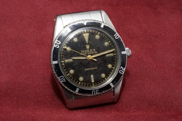 ロレックス サブマリーナ Ref-6204(RS-12/1954年)の詳細写真4枚目