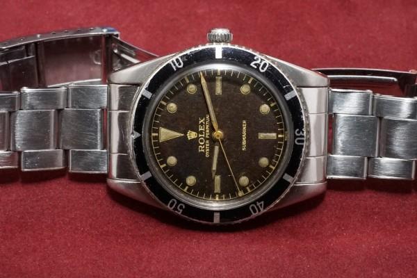 ロレックス サブマリーナ Ref-6204(RS-12/1954年)の詳細写真6枚目