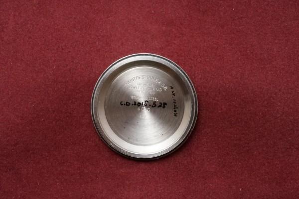 ロレックス EXPLORER Ref-6610 Gilt/Gloss Dial(RS-13/1957年)の詳細写真11枚目