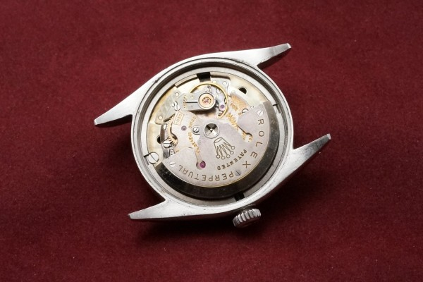 ロレックス EXPLORER Ref-6610 Gilt/Gloss Dial(RS-13/1957年)の詳細写真12枚目
