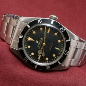 ロレックス サブマリーナ Ref-6536/1 Red depth Dial