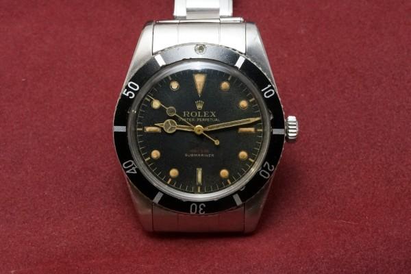ロレックス サブマリーナ Ref-6536/1 Red depth Dial(RS-10/1956年)の詳細写真2枚目