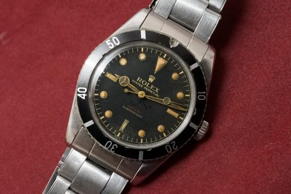 ロレックス サブマリーナ Ref-6536/1 Red depth Dial(RS-10/1956年)の詳細写真3枚目