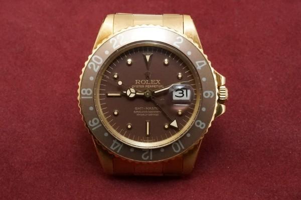ロレックス GMTマスター Ref-1675/8 Brown Nipple Dial(RS-15/1975年)の詳細写真2枚目