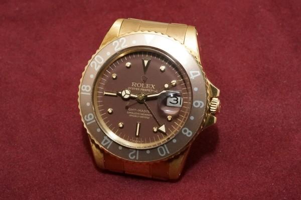 ロレックス GMTマスター Ref-1675/8 Brown Nipple Dial(RS-15/1975年)の詳細写真3枚目