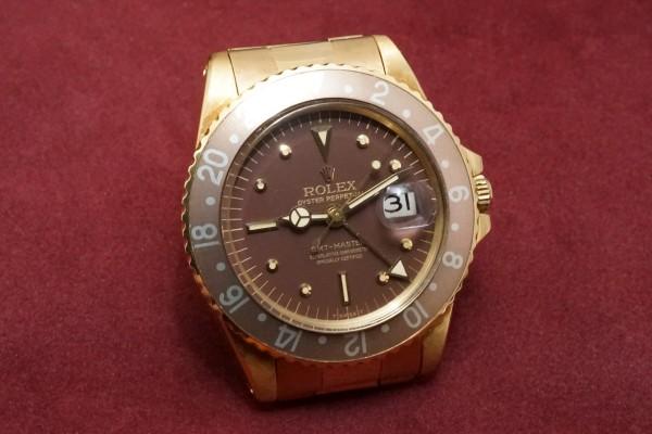 ロレックス GMTマスター Ref-1675/8 Brown Nipple Dial(RS-15/1975年)の詳細写真4枚目