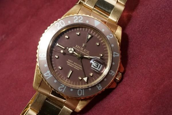 ロレックス GMTマスター Ref-1675/8 Brown Nipple Dial(RS-15/1975年)の詳細写真5枚目