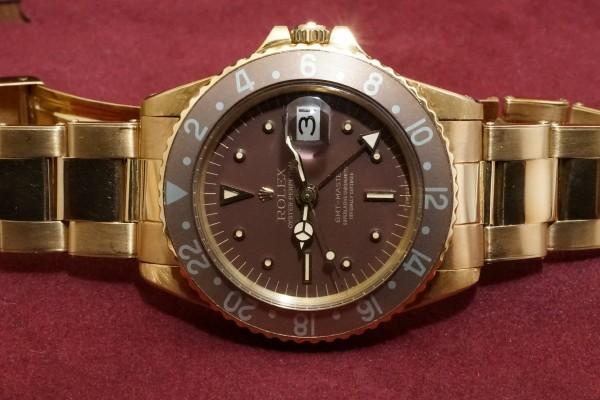 ロレックス GMTマスター Ref-1675/8 Brown Nipple Dial(RS-15/1975年)の詳細写真6枚目