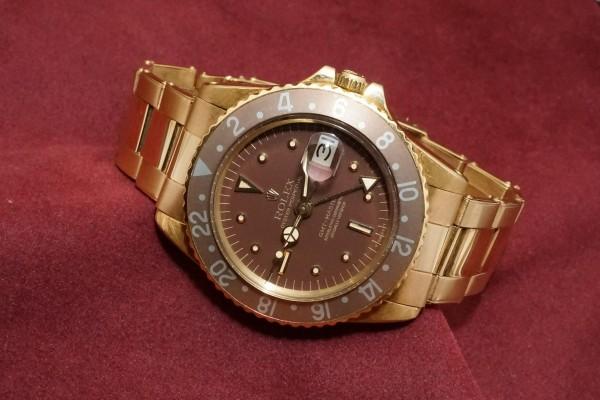 ロレックス GMTマスター Ref-1675/8 Brown Nipple Dial(RS-15/1975年)の詳細写真1枚目