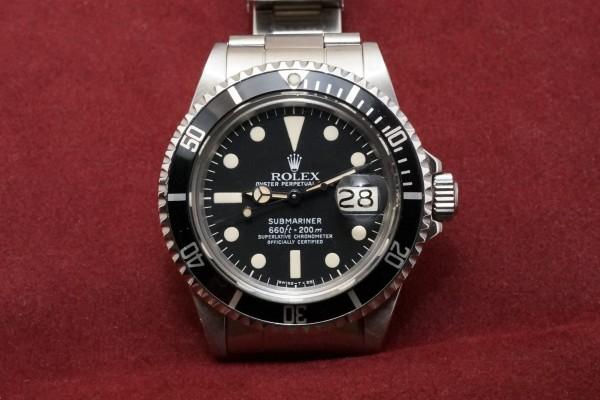 ロレックス WHITE サブマリーナ Ref-1680 Mark-1 Dial(RS-20/1979年)の詳細写真2枚目