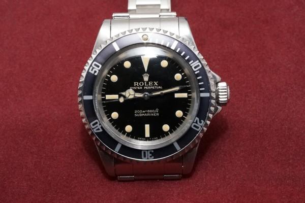 ロレックス サブマリーナ Ref-5513 Gilt/Gloss Dial Near-Mint!(RS-22/1966年)の詳細写真2枚目