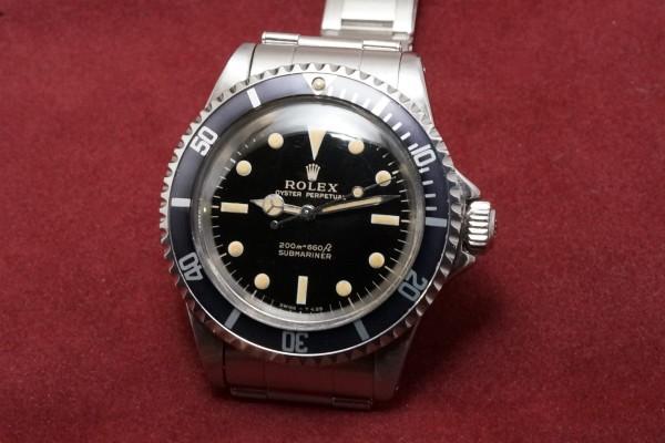 ロレックス サブマリーナ Ref-5513 Gilt/Gloss Dial Near-Mint!(RS-22/1966年)の詳細写真3枚目