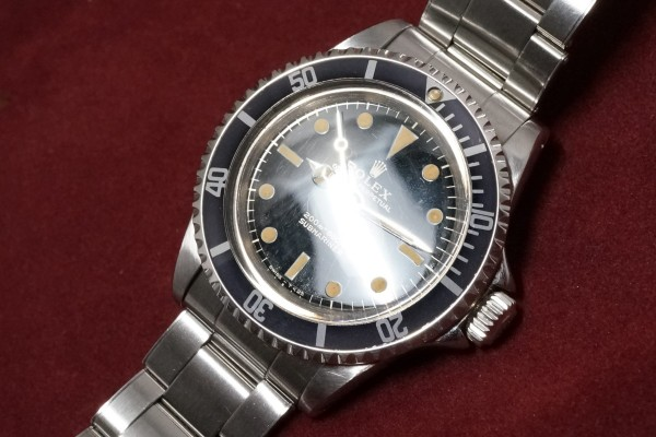 ロレックス サブマリーナ Ref-5513 Gilt/Gloss Dial Near-Mint!(RS-22/1966年)の詳細写真7枚目