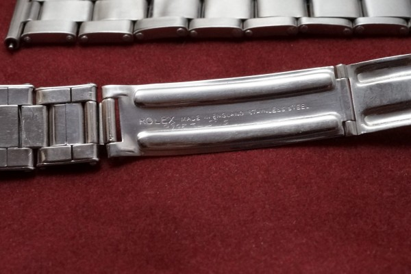 チュードル OYSTER Ref-7904 Small Rose Honeycomb Dial(RO-65/1955年頃)の詳細写真10枚目
