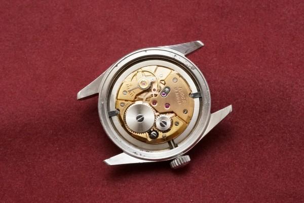 チュードル OYSTER Ref-7904 Small Rose Honeycomb Dial(RO-65/1955年頃)の詳細写真12枚目