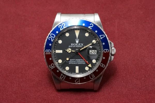 ロレックス GMTマスター Ref-16750 Matte Dial(RS-18/1982年)の詳細写真2枚目