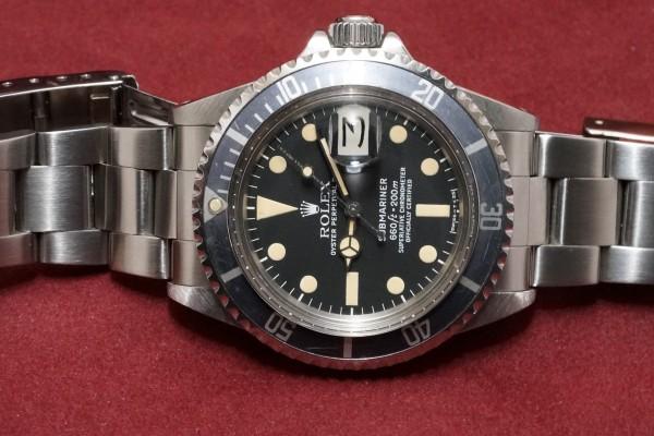 ロレックス サブマリーナ DATE Ref-1680 Mk-2 Dial Guarantee(RS-16/1979年)の詳細写真4枚目