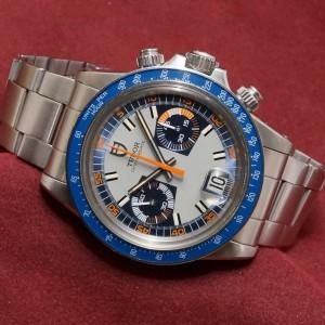 チュードル Monte-Carlo Ref-7149/0 Blue Near Mint-condition!