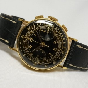 Buchere Black Breguet Gilt Dial