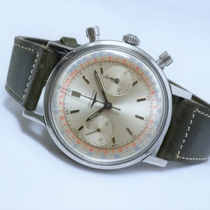 Longines Jumbo Water Proof クロノグラフ 30ch