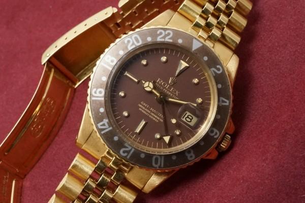 ロレックス GMTマスター Ref-1675/8 Brown Nipple Dial(RS-25/1970年)の詳細写真3枚目