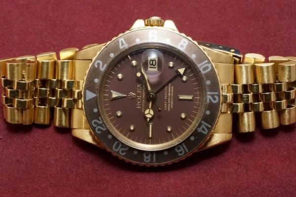 ロレックス GMTマスター Ref-1675/8 Brown Nipple Dial(RS-25/1970年)の詳細写真4枚目