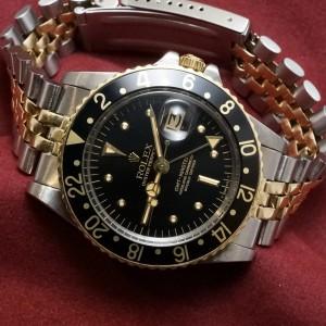 ロレックス GMTマスター Ref-1675/3 Black Nipple Dial