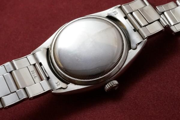 ロレックス EXPLORER Ref-6350 Honeycomb Dial(RS-46/1953年)の詳細写真6枚目