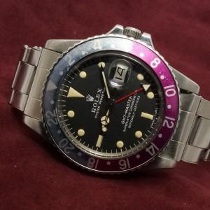 ロレックス GMTマスター Ref-1675 Long E