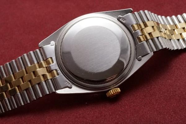 ロレックス DATEJAST Ref-1601/3 SS×YG Gilt/Glossy Dial(RO-41/1967年)の詳細写真6枚目