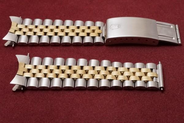 ロレックス DATEJAST Ref-1601/3 SS×YG Gilt/Glossy Dial(RO-41/1967年)の詳細写真7枚目