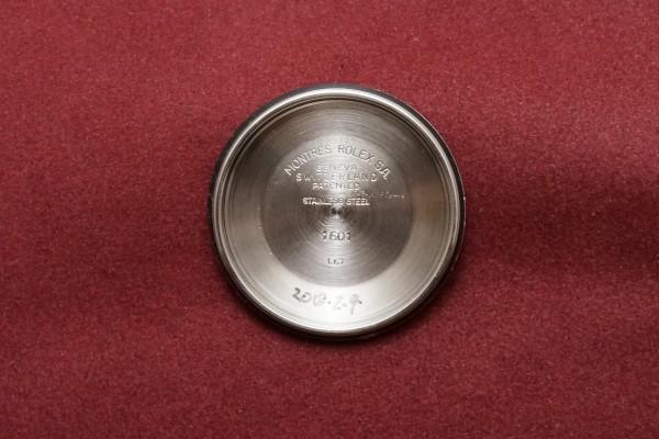 ロレックス DATEJAST Ref-1601/3 SS×YG Gilt/Glossy Dial(RO-41/1967年)の詳細写真9枚目