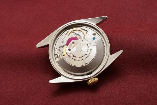 ロレックス DATEJAST Ref-1601/3 SS×YG Gilt/Glossy Dial(RO-41/1967年)の詳細写真10枚目
