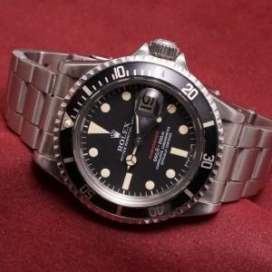 ロレックス 赤サブマリーナ Ref-1680 Mark-5 Dial