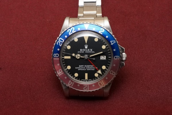 ロレックス GMTマスター Ref-1675 Matte Dial Mark-2(RS-70/1970年)の詳細写真2枚目