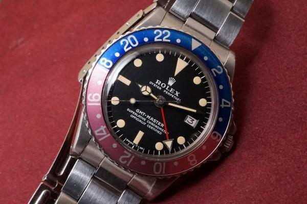 ロレックス GMTマスター Ref-1675 Matte Dial Mark-2(RS-70/1970年)の詳細写真3枚目