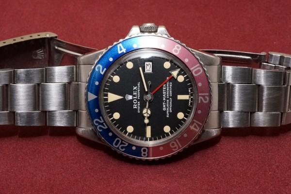 ロレックス GMTマスター Ref-1675 Matte Dial Mark-2(RS-70/1970年)の詳細写真4枚目