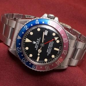 ロレックス GMTマスター Ref-1675 Matte Dial Mark-2
