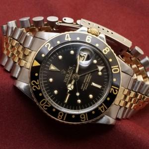 ロレックス GMTマスター Ref-1675/3 Black Nipple