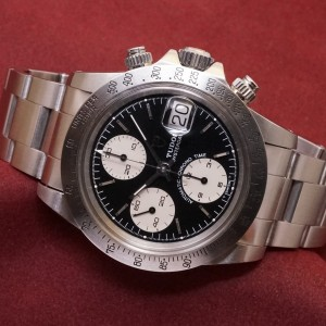 チュードル CHRONOTIME BIG BLOCK Ref-79180 Near Mint-condition!Garantie Paper