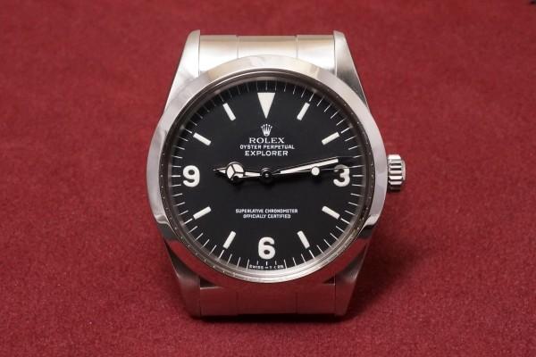 ロレックス EXPLORER Ref-1016 Ser-L Full Set(RS-98/1989年)の詳細写真2枚目
