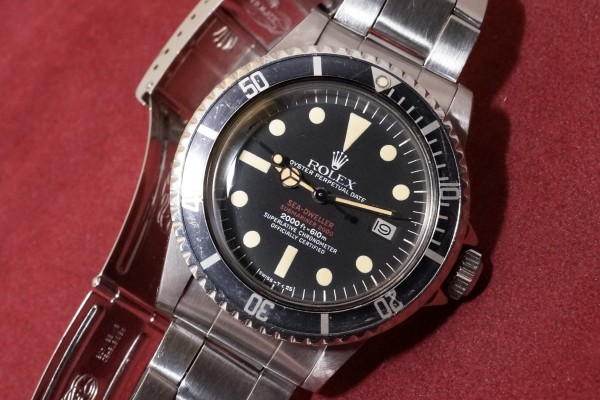 ロレックス DOUBLE RED シードゥエラー Ref-1665 Mark-4(RS-99/1975年)の詳細写真3枚目