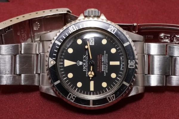 ロレックス DOUBLE RED シードゥエラー Ref-1665 Mark-4(RS-99/1975年)の詳細写真4枚目