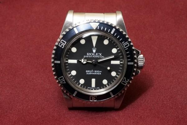 ロレックス サブマリーナ Ref-5513 MAXI Mark-1(RS-13/1977年)の詳細写真2枚目